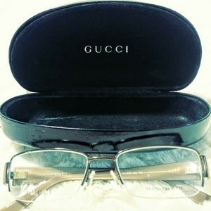 Gucci eyeglasses and case